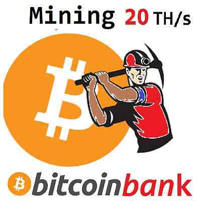 BITCOIN MINING 20TH/s Six Month Contract 2.5998 BTC Digital-Coin Crypto-Currency