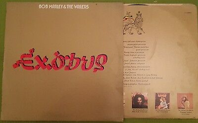 Bob Marley and the Wailers  -  Exodus -Vinyl LP . Island . ILPS 9498 A-1u (1977)
