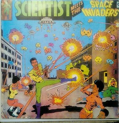 Scientist - meets the space invaders in ex condition.