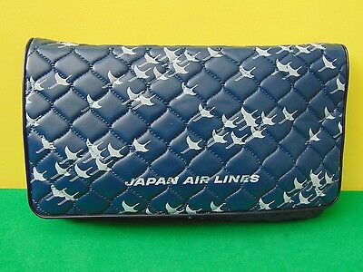 Japan Air Lines Business Class Amenity Kit with Slipper