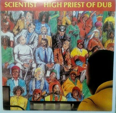 Scientist - high priest of dub, in ex condition very clean.