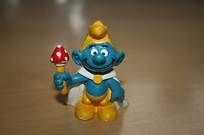 King Smurf Peyo Bully W.Germany 2.0074 Schtroumpfe Schlumpfe Puffi