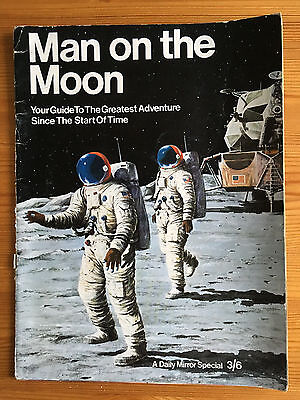 1969 Man on the Moon Daily Mirror Special