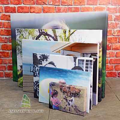 """Your Photo Image on to Box Canvas Print 20"""" x 16"""" Inches Eco-Friendly Inks-!ÖCA"""