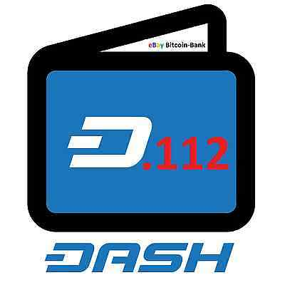 .112 Dash Crypto Currency Guaranteed Deliver Direct to Your Wallet! AltCoin