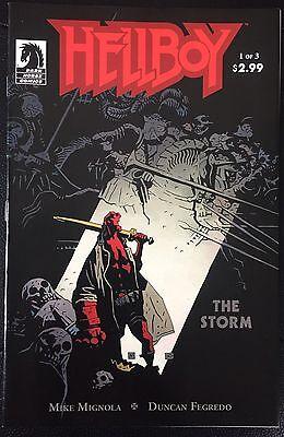 Hellboy The Storm #1-2 Dark Horse Comics FN