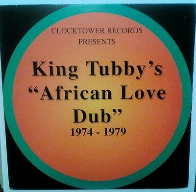 King tubby - african love dub, 1974-1979. In ex+ condition,
