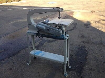 Delta 24″ Reciprocating Scroll Saw on Stand