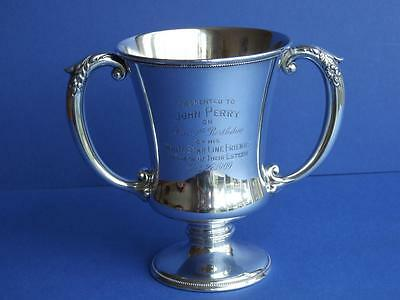 Sterling Silver White Star Line Presentation Cup 1909 - Titanic Olympic.