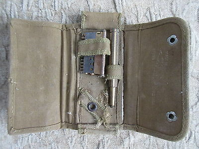Old Antique Canada WW1 Valet Auto-Strop Safety Razor w/Case