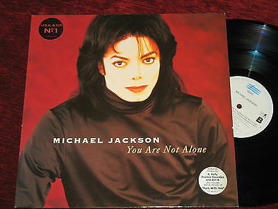 MICHAEL JACKSON '12 extended YOU ARE NOT ALONE (1995) Europe