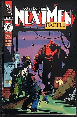 Next Men Faith Part 3 Of 4 First Appearance Of Hellboy FN