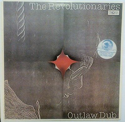 The revolutionaries - outlaw dub ex condition trojan label.