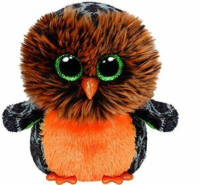 "TY Beanie Boo Babie 6 Inch Midnight the Owl - 6"" Collectable Beanie Babies"