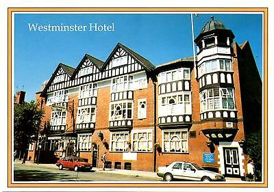 Westminster Hotel - City Road - Chester - Postcard