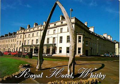 Royal Hotel - Whitby - Yorkshire - Postcard