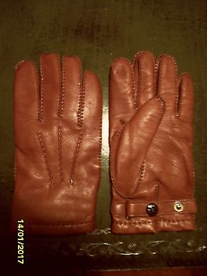 Mens Dents Leather Gloves