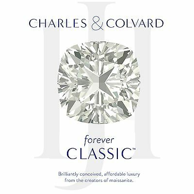 Charles Colvard Moissanite Cushion 7.5mm Forever Classic Loose Stone 2.07 ct