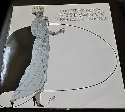 DIONNE WARWICK - I'll Never Love This Way Again / Live Hits Medley EX