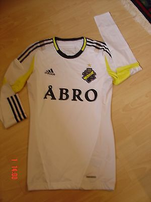 AIK Stockholm Langarm Trikot  L/S TechFit Player Issue Away Shirt Adidas Gr. S