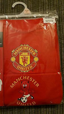 2 X Manchester United Sleepsuits 18-24 Months BNWT
