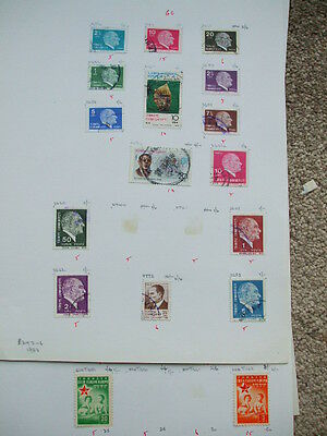 A Collection 7 pages Of Old Turkey Stamps M.mint & Used