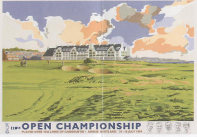 Kenneth Reed - 1999 Carnoustie The Open Championship Posters L