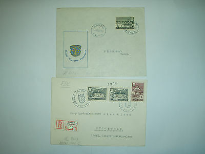 Finland  Old  Stamps on an envelope 1946