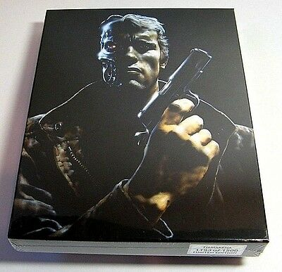 The Terminator from Czech Filmarena blu-ray steelbook.New and sealed.