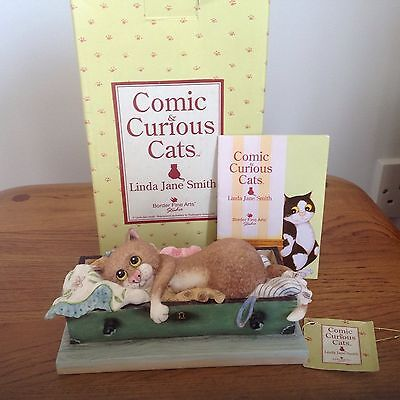 Linda Jane Smith Comic and Curious Cat Your bottom drawer.
