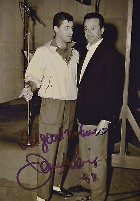 Jerry Lewis Hand Signed Photo