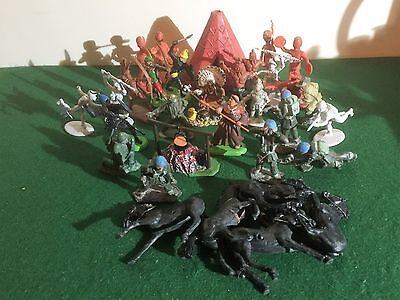Vintage Mixed Toy Soldier Lot