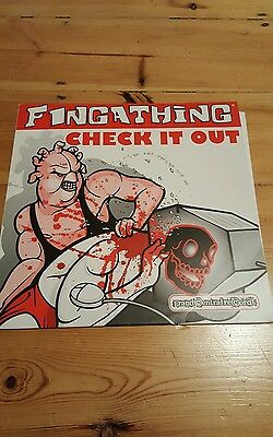 "Fingathing ‎– Check It Out 12"" Vinyl"