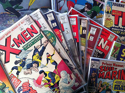 SILVER AGE GRAB BAG PREMIUM: X-men, Spider-man, Iron Man, Hulk, Avengers 181 1