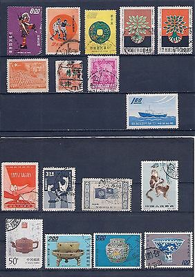 CHINA collection of vintage stamps  (068)