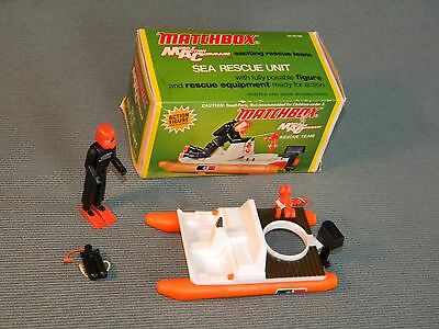 Matchbox Mobile Action Command Sea Rescue Unit 1974 Lesney Products With Box