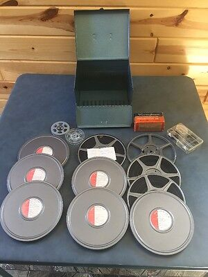 1950's-60's Vintage 8mm HOME MOVIES Film Reel Footage Holidays & Vacations Etc.