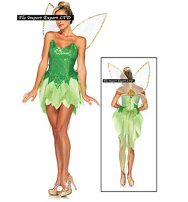 Trilli - Vestito Carnevale Donna Dress up Woman Tinkerbell Costume THINK01