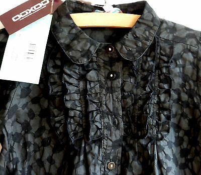 NEUF ETIQUETTE ! OOXOO chemise chemisier blouse liberty 6 ans years