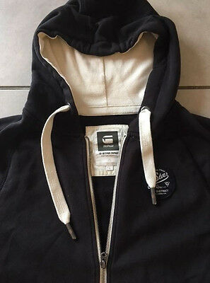 sweat gilet à capuche g-star raw homme taille L
