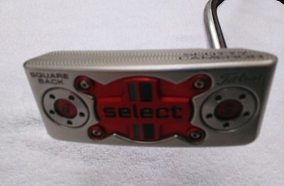 "Putter Titleist Scotty Cameron           Square Back Select 34"" Rh"
