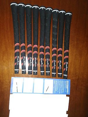 9 GRIP GOLF SWING TRACK + Cinta doble cara e instruciones