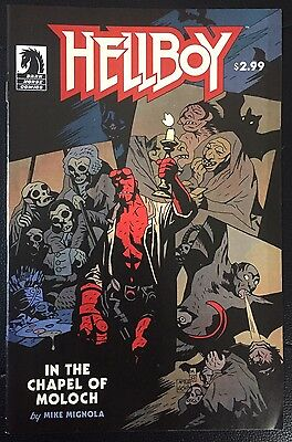 Hellboy In The Chapel Of Moloch Dark Horse Comics FN