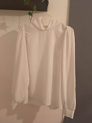 Vintage White Blouse