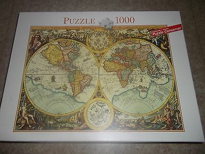 HISTORICAL MAP OF THE WORLD 1000 Piece Jigsaw Puzzle