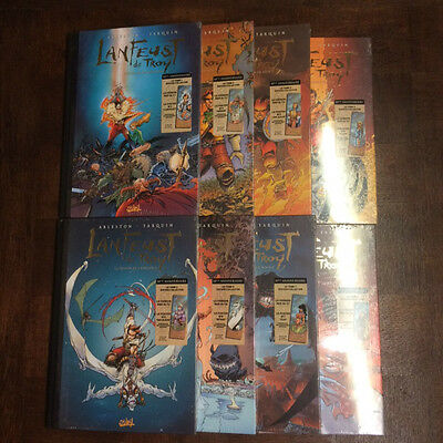 Lanfeust De Troy - Tarquin Arleston- Lot Tome 1 A 8 Editions Collectors