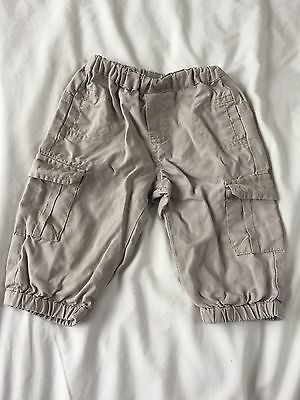 Vertbaudet Baby Boys Stone Pants / Trousers, Age 3-6 Months
