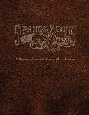 Strange Aeons, Horror skirmish tabletop game, Cthulhu, lovecraft