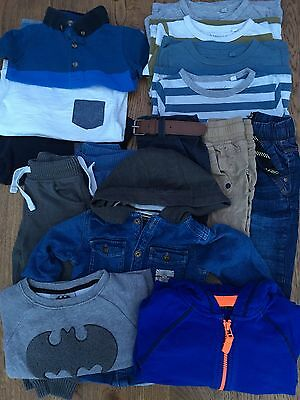 Big Bundle 12-18 mth Baby Boy Clothes.. Nearly all NEXT.. 16 Items..