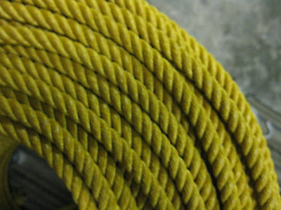 Synco Brand 3 Strand, 9.0 x 60' - GOLD Ranch Poly Rope